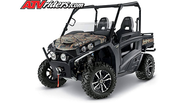 The Pelham Police Department is seeking information about an Aug. 29 theft of a pair of John Deere ATVs, and said the vehicles look similar to the ATV in this photo. (Contributed)
