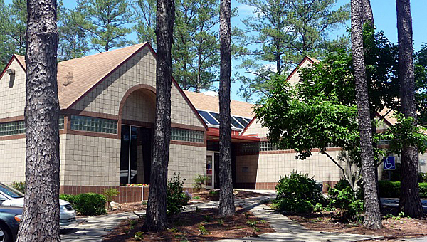 Alabaster's Albert L. Scott Public Library has a new roof, and could see other upgrades in the future. (File)