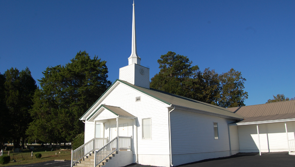 Bethlehem Baptist Church in Shelby celebrated its 175th anniversary Oct. 6. (Reporter Photo/Stephanie Brumfield)