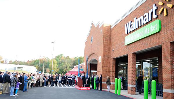 The Walmart Neighborhood Market in Helena opened its doors on Nov. 6. (File)