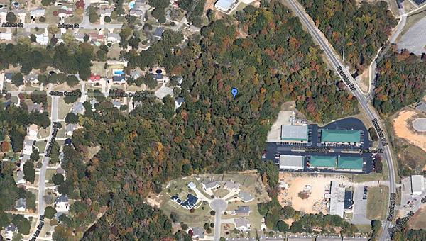 The Pelham City Council voted to accept the donation of currently vacant land off Bearden Road during its Nov. 4 meeting. (Contributed)