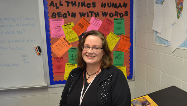 Montevallo High was recently named Shelby County School System's High School Teacher of the Year. (contributed)