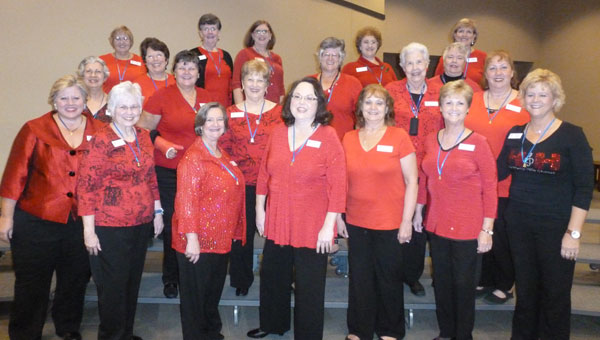 """Harmony Hills Chorus will perform their Christmas concert """"Share the Joy"""" on Monday, Dec. 16 at 7:30 p.m. (contributed)"""