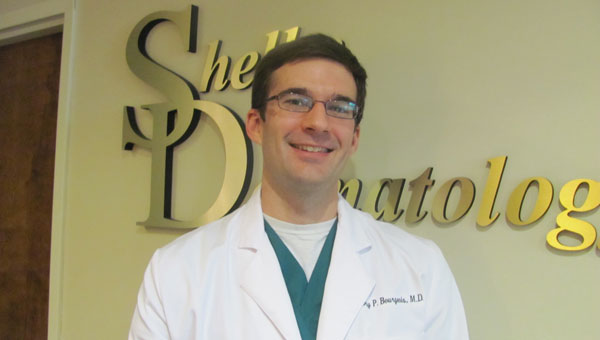 Greg Bourgeois, a Louisiana native, welcomes his patients at Shelby Dermatology. (Contributed)