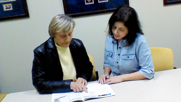 In connection with the Literacy Council of Central Alabama, volunteer tutors are trained and made available to patrons to help in the improvement of reading skills as well as the teaching of English. (CONTRIBUTED)