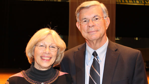 Ames and Rick Rhoades are helping to build Pelham's future. (Contributed)