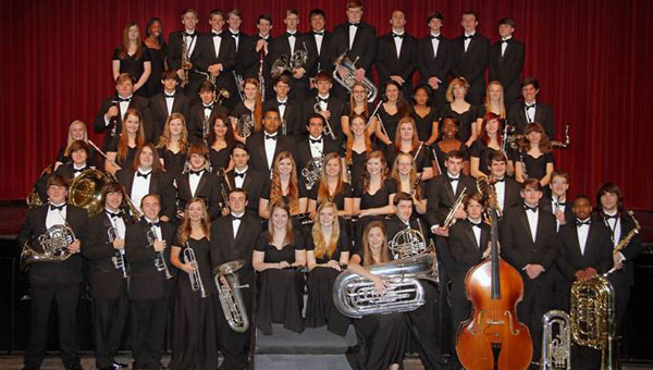 Thompson High School's Wind Ensemble has been recognized as one of the best in the nation. (Contributed)