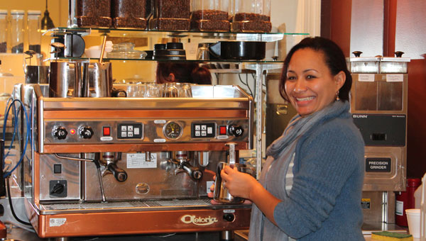 Kai Smith recently opened Kai's Koffee in Pelham. (Contributed)