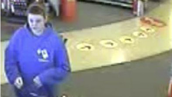 Hoover Police are seeking the public's help in identifying a white female suspect who robbed an elderly woman and threw her to the ground in a supermarket parking lot Jan. 6.  (Contributed)