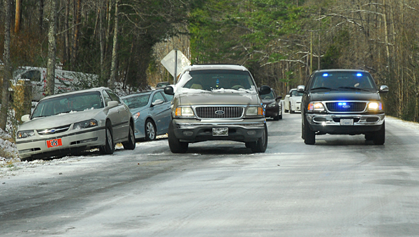 The city of Helena is prepared to take action if roadways become icy due to inclement weather. (File)