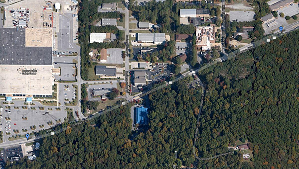Pelham may partner with Hoover and the Alabama Department of Transportation to possibly widen a portion of Valleydale Road. (Contributed)