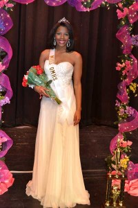 Myrah Elizabeth Taylor was crowned Miss Oak Mountain High School Jan. 18 at OMHS. (Contributed.)