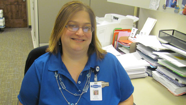 Michelle Edwards has been a city of Alabaster employee for more than 10 years. (Contributed)