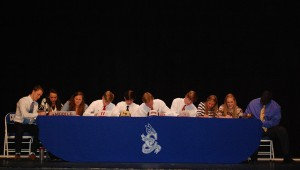 Ten Chelsea seniors signed letters of intent in a ceremony held Feb. 5. (Contributed)