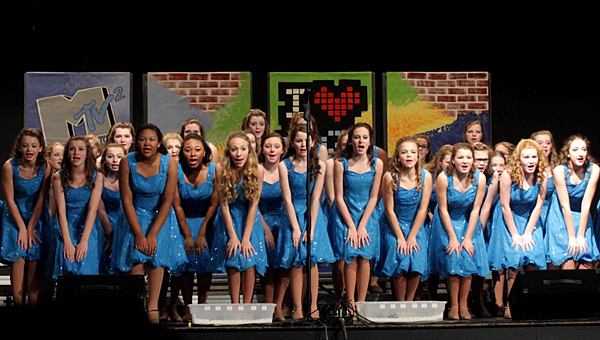 The HMS Music Machine Show Choir will have its final performance at a dessert Cabaret at the school on Saturday March 15. (Contributed)