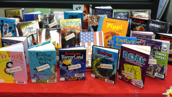 Parnell Memorial Library has over 200 new books geared toward second through fifth graders. (Contributed)
