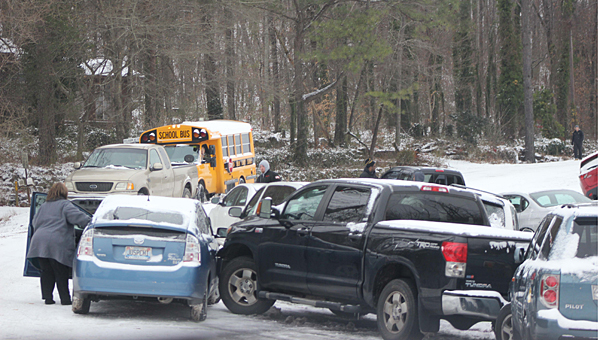The Pelham City Council is considering a resolution to refund towing fees for some vehicles towed during the recent winter storm. (Contributed/Ashley Williams)