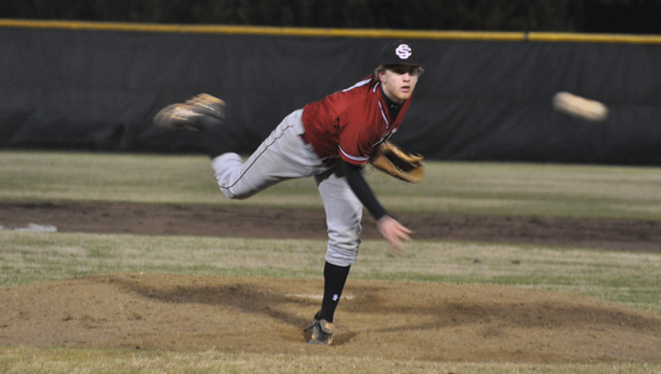 Sidewinder pitchers, like Shelby County High's Cody Jones, highlight the balance between independence and teamwork found in baseball. (Contributed/TommieAnn Scott)
