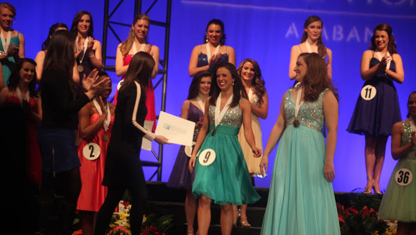 Maddy Powell recently won the state Distinguished Young Woman program. (contributed)