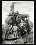 Minnie Draper McDonough recently donated this photo of a steam switch engine to the Kenneth R. Penhale Historic Museum in Helena. (contributed)