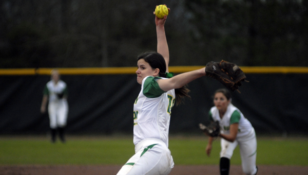 Pelham's Sam Kusiak allowed just one earned run in a March 11 contest against Chelsea. (Reporter Photo/Drew Granthum)