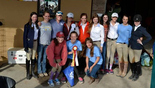 The Birmingham Interscholastic Equestrian middle school team won Reserve Champion securing their place to advance to Zone Finals held April 11-13 at Savannah College of Art and Design in Hardeeville, S.C. The team features several members from Shelby County.