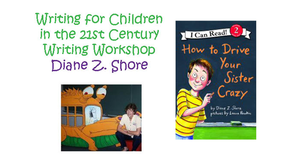 Pelham Public Library will host a writing workshop led by award-winning children's author, Diane Z. Shore, from April 14-16. (Contributed)