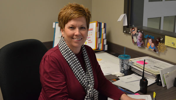 Montevallo High School secretary Cathy Majors has been with the school for nine years. (contributed)
