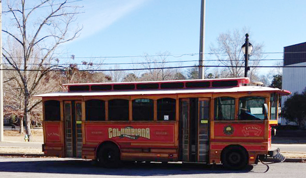 The Columbiana trolley will begin operations April 1 (file).