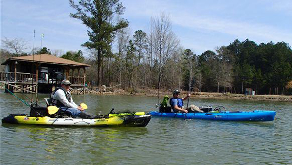 Columbiana will play host to a unique style of fishing tournament March 28, as the Coosa Canoe and Kayak Fishing Tournament will hold the first stage of its 2014 series on Lay Lake. (Coosa Canoe and Kayak Fishing Tournament)
