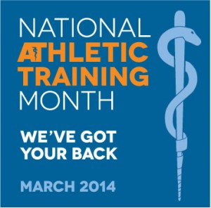 The National Athletic Trainer's Association looks to raise awareness of the profession's duties during National Athletic Training Month, held each March. (Nata.org)