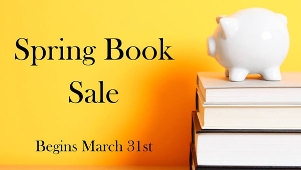 Pelham Public Library's quarterly book sale will take place this year from March 31 through mid-May. All proceeds will go to the Pelham Library Guild's fund to build a new library. (Contributed)