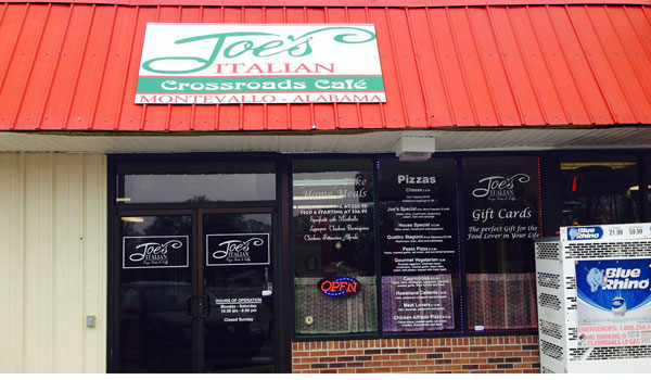 Joe's Italian opened March 18 (Ginny Cooper / For the Reporter)