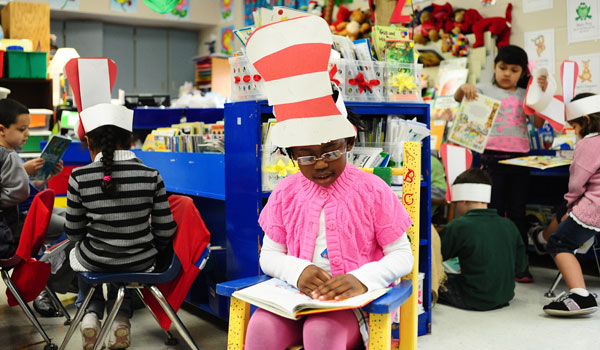 Students at Montevallo Elementary celebrated the works of Dr. Seuss during the first week of March (File).