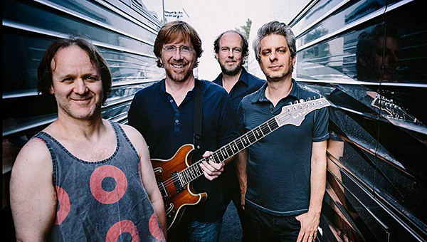 The popular jam band Phish will perform at Pelham's Oak Mountain Amphitheatre on Aug. 2. (Contributed)