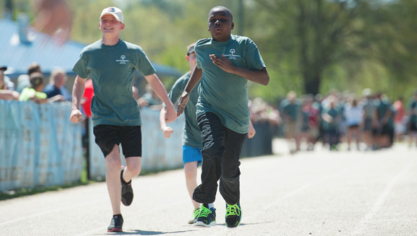 I think the Special Olympics are my favorite event I've ever covered, and that's not to slight anything else I've been to. It's more or less because these athletes are competing unbridled. (Contributed/Troya Yoder)