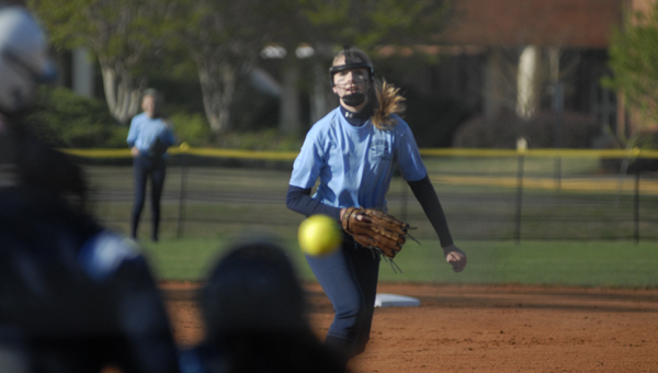 Briarwood's Linley Splawn earned a win over John Carroll on the mound April 14. (Reporter Photo/Drew Granthum)