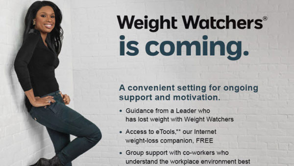 Columbiana's Weight Watchers at Work program will begin on May 7. (Contributed)