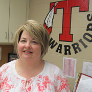 LeiAnne Woods is Thompson Intermediate School's Support Person of the Year. (Contributed)