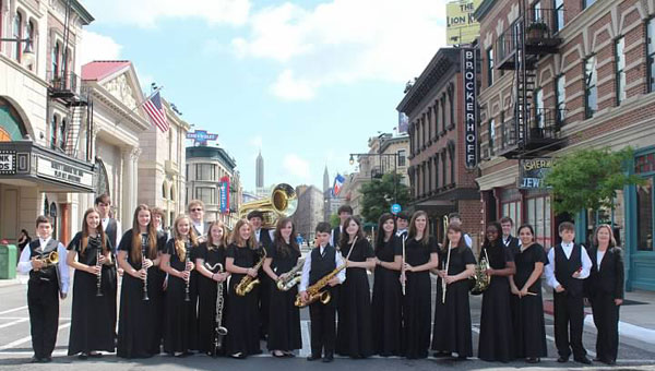 The Kingwood Christian School Concert Band wowed judges during a recent performance in Disney World. (Contributed)