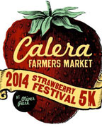 A 5K will kick off the annual Calera Strawberry Festival on April 26. (Contributed)