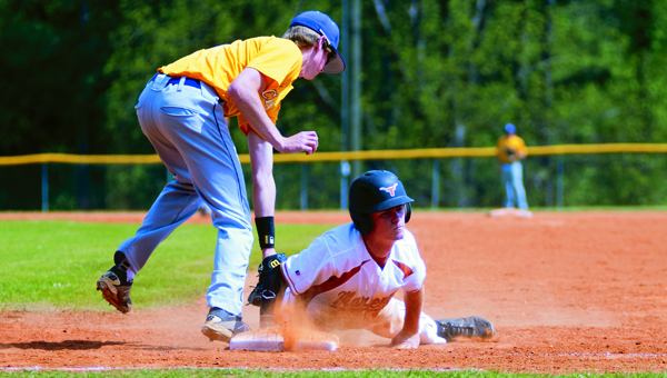 The Cornerstone Christian Chargers fell in the final inning of a best-of-three playoff series against Marengo Academy on April 26. (Demopolis Times/Matthew Cole)