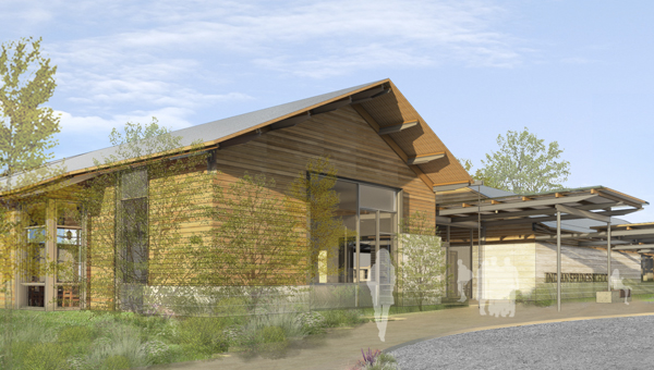 Indian Springs School launched its $20 million capital campaign for campus improvements April 11.  Improvements include modernized classrooms, a new dining hall and a new arts center. (Courtesy Lake|Flato Architects)