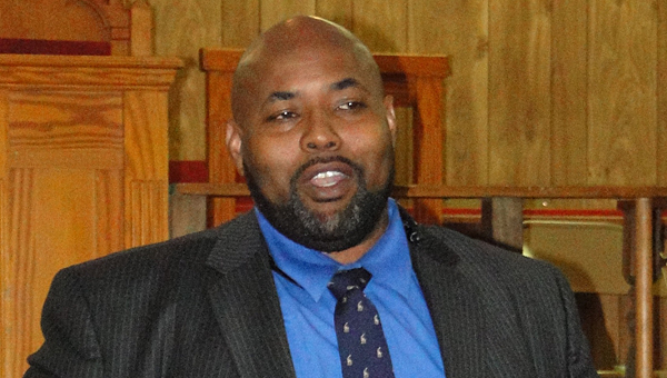 NAACP Shelby County branch President Kenneth Dukes thanks his supporters for entrusting him to lead the group in its purpose to create a voice for people who don't know how to speak for themselves and protect their rights. (Contributed)