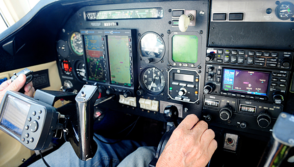 Johnny Ward will hold an introduction to flying class at the Shelby County Airport in May. (File)