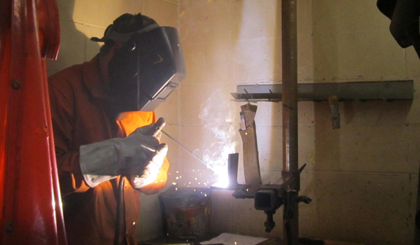 24 students competed for scholarships to Tulsa Welding School in Jacksonville, Fla.