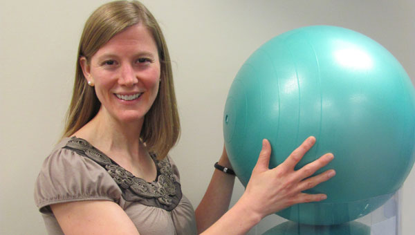 Heather Ray works at Impact Rehab and Sports Medicine in Alabaster. (Contributed)