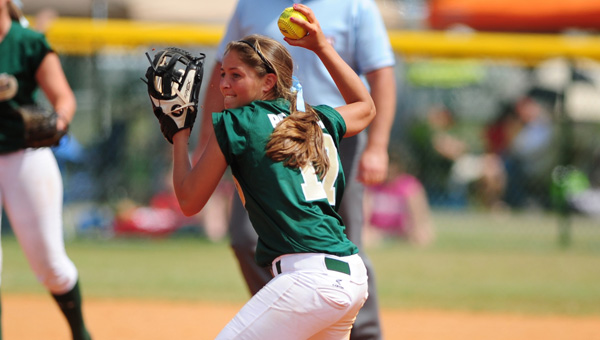 Pelham's Caitlyn Sapp scored two runs in a 5-3 win over Spain Park May 2. (FILE)