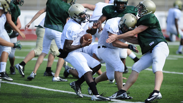 The Pelham Panthers will be hosting a youth football camp June 9-12 at Pelham City Park, in hopes of not only educating younger players about the game and the Pelham High program, but also to serve the community. (FILE)