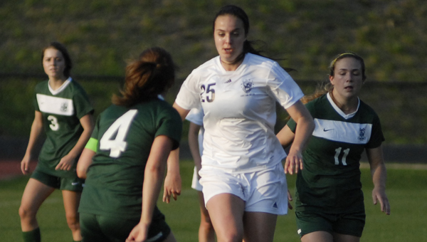 The Gatorade Company, in collaboration with USA TODAY High School Sports, announced in a press release May 20 Briarwood's Claudia Day as its 2013-14 Gatorade Alabama Girls Soccer Player of the Year. (FILE)